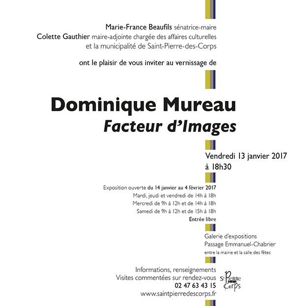 Dominique Mureau, Facteur d'Images,Photographie,Peinture,Installations,Galerie Passage Emmanuel Chabrier,Saint Pierre des Corps,Mode d'Emploi,Petits Formats,Ile Simon,Tours