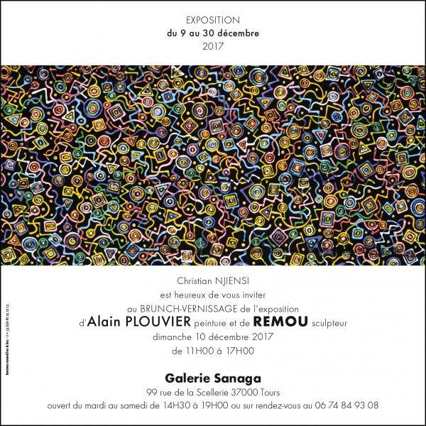 exposition,peintures,scupltures,Remou,Plouvier,galerie,tours