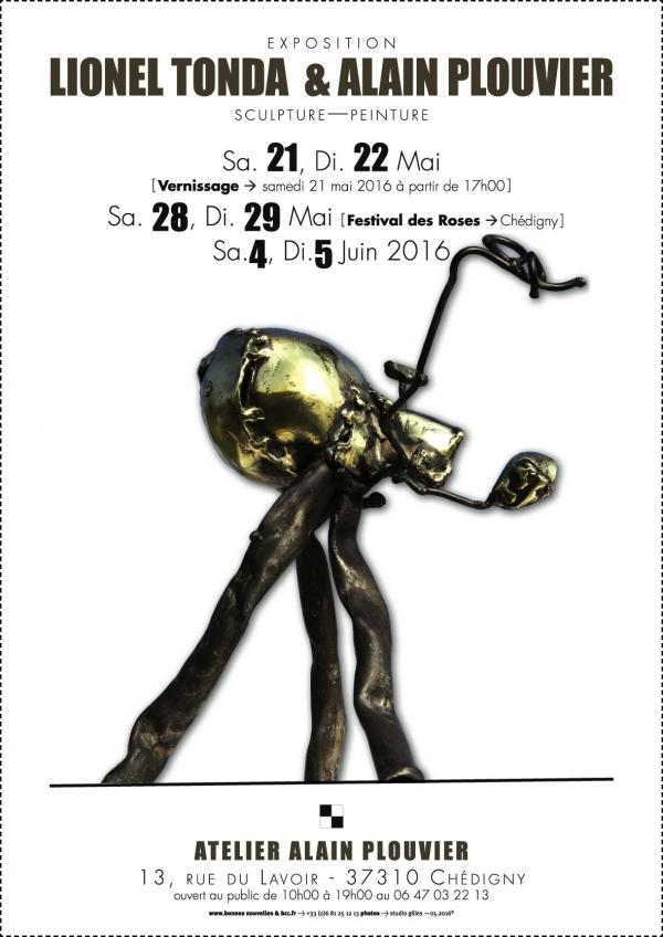 exposition,sculpture,lionel,tonda,chédigny