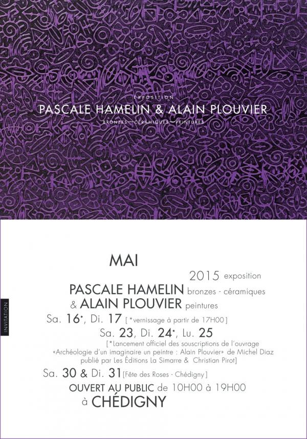 exposition,alain,plouvier,peintures,sculptures,pascale,hamelin