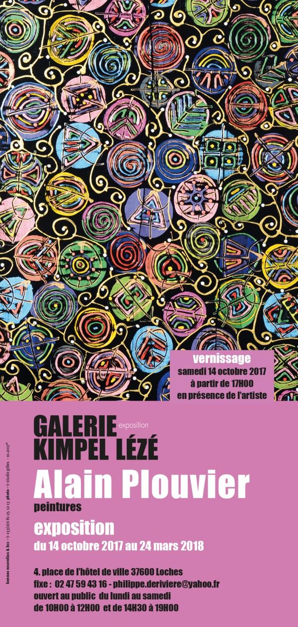 exposition,peintures,galerie,kimpel lézé,loches